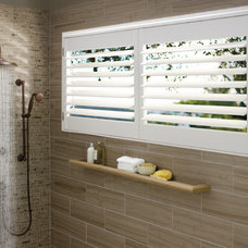 Contemporary Bathroom by Designer Window Fashions