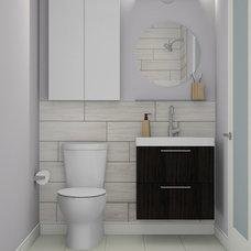 Contemporary Bathroom by Mydoma