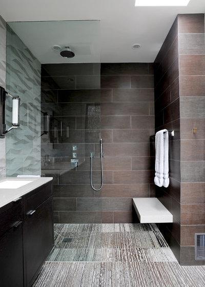 Contemporary Bathroom by Devlin McNally Construction