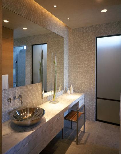 Contemporary Bathroom by Dick Clark + Associates