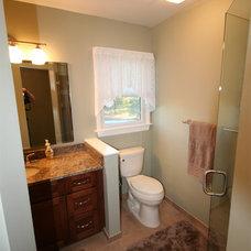 Contemporary Bathroom by DreamMaker Bath & Kitchen