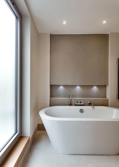 Trendy Badeværelse Contemporary Bathroom