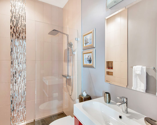 vertical accent tile | houzz