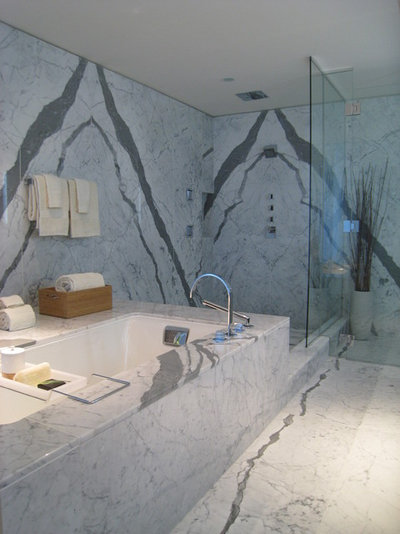 Contemporary Bathroom by Flüff Designs