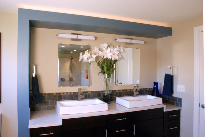 Contemporary Bathroom by Forward Design Build