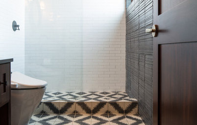 Room of the Day: Moroccan Tile Inspires a Guest Bathroom Design