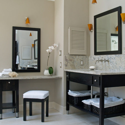 Inspiration For A Contemporary Bathroom Remodel In Philadelphia With An  Undermount Sink, Furniture Like Part 51