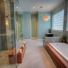 Contemporary Bathroom by Glendarroch Homes