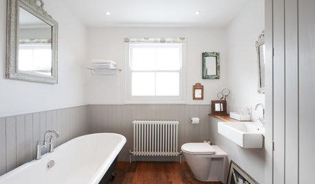 10 Fresh Design Ideas for Grey Bathrooms