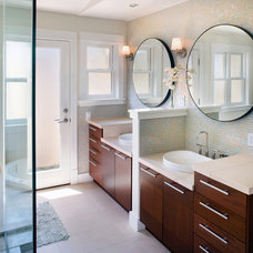 Transitional Bathroom Contemporary Bathroom