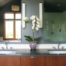 Contemporary Bathroom by Guggenheim Architecture + Design Studio