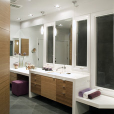 Contemporary Bathroom by Hamilton-Gray Design, Inc.