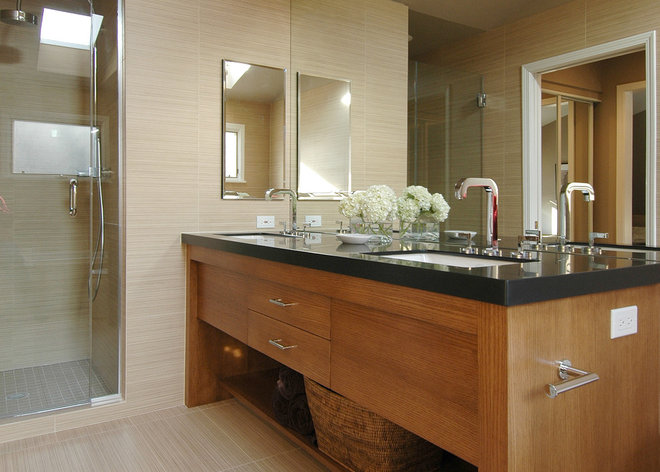 Contemporary Bathroom by the orpin group, interior design