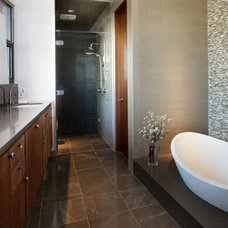 Contemporary Bathroom by Caesarstone