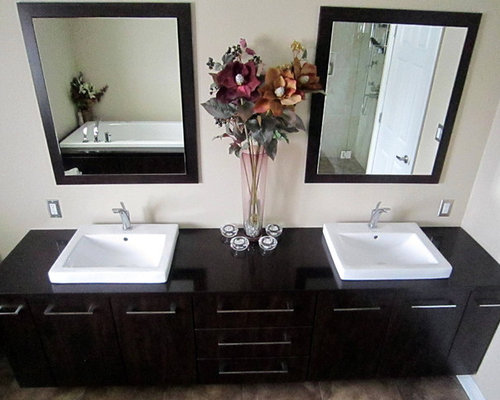 raised bathroom sink large bathroom vanity houzz 14065