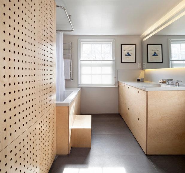 New Contemporary Bathroom Contemporary Bathroom