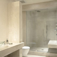contemporary bathroom by Gibbons, Fortman & Associates, Ltd.
