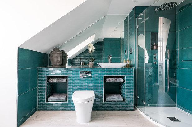 Contemporary Bathroom by Veronica Rodriguez Interior Photography
