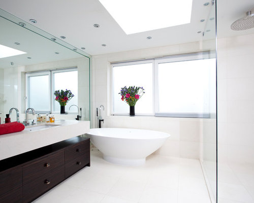 full wall bathroom mirror wall mirror houzz 18449