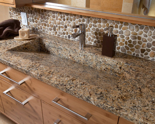 Custom Granite : Custom Granite Sink Home Design Ideas, Pictures, Remodel and Decor