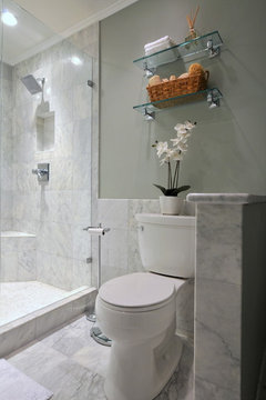 Should Bathroom Walls Be Tiled Halfway Up In A Large Bathroom