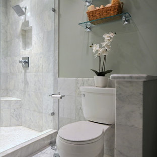 Carrera Marble Bathroom Houzz - Carera marble bathroom