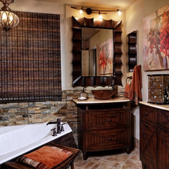 contemporary bathroom by Myriam Payne