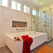 Contemporary Bathroom by Jackson Design & Remodeling