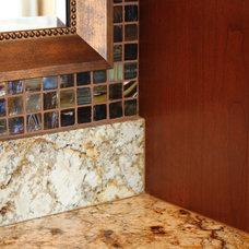 Contemporary Bathroom by Jason Ball Interiors, LLC