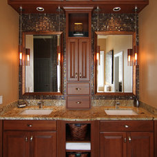 Contemporary Bathroom by Jason Ball Interiors, LLC
