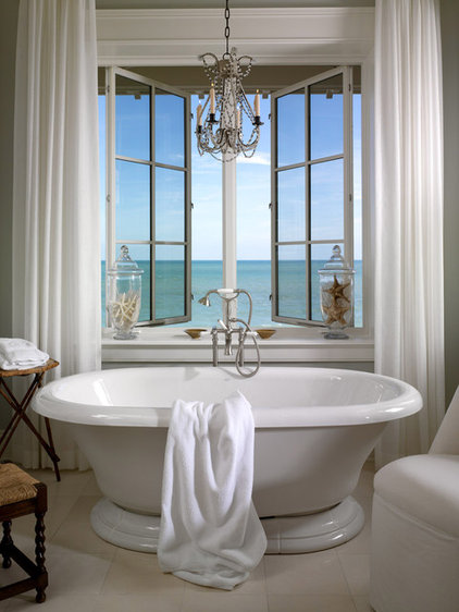 contemporary bathroom by jill Shevlin  - Intrinsic Designs