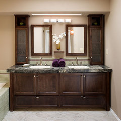 contemporary bathroom by Kirstin Havnaer, Hearthstone Interior Design, LLC