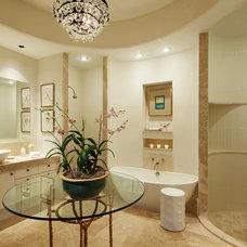 Contemporary Bathroom by L K DeFrances & Associates