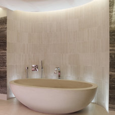 Contemporary Bathroom by Lapicida Stone Group