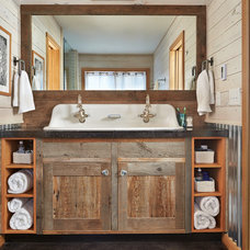 Rustic Bathroom Contemporary Bathroom
