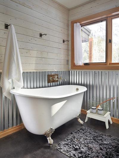 Farmhouse Bathroom Contemporary Bathroom
