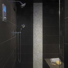 Contemporary Bathroom by Lellbach Builders