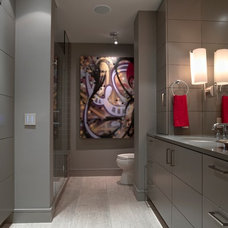 Contemporary Bathroom by LiLu Interiors