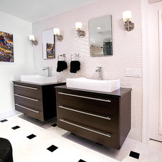 Contemporary Bathroom by LS Interiors Group, Inc.