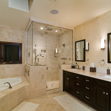 Contemporary Bathroom by M.D.H. Builders & Painting Contractors