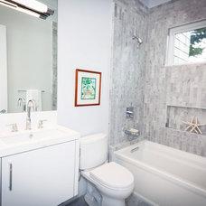 Contemporary Bathroom by Marsh and Clark Design
