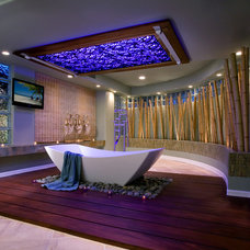 contemporary bathroom by Martin King Photography