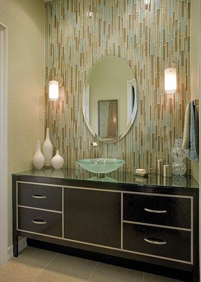 Contemporary Bathroom by Megan Crane Designs, Inc.