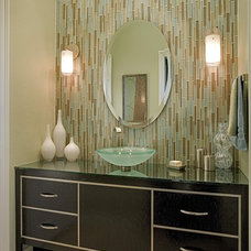 Contemporary Bathroom by Megan Crane Designs, Inc.