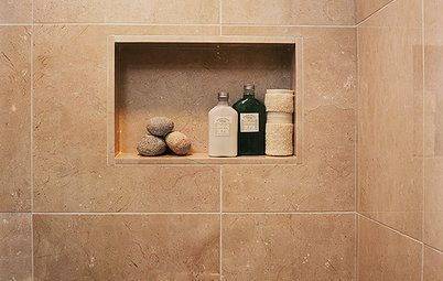 High Quality Avoid Falling Bottles With A Shower Niche!