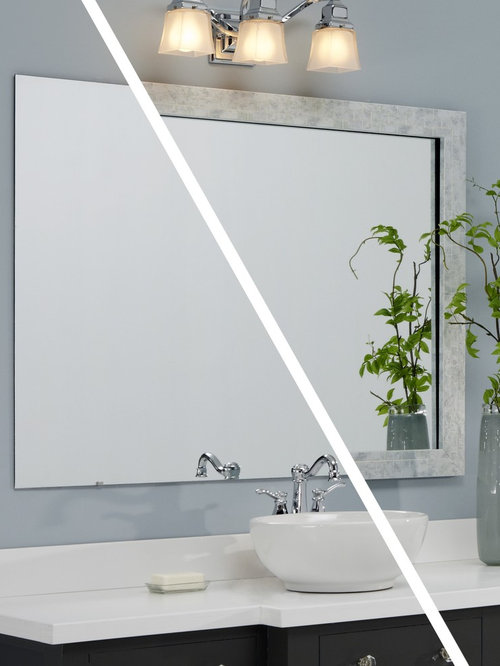 MirrorMate frames Before & Afters