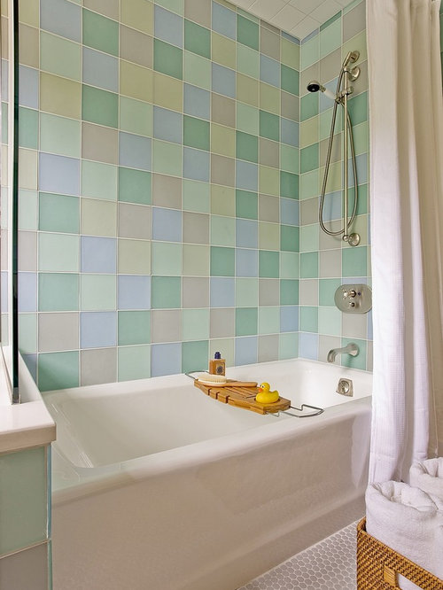 New Paint  Tile For Kids39 Bathroom  Painted Tiles  Pinterest