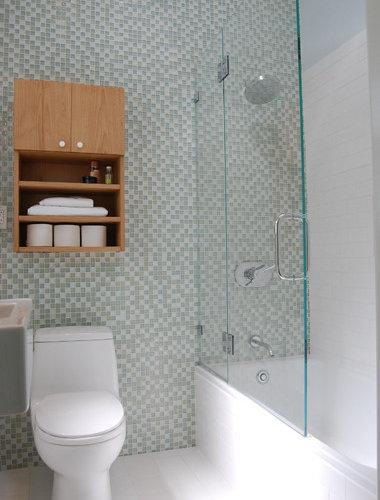 Beau Small San Francisco Bathroom Remodel