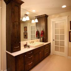 Modern Bathroom by PepperJack Interiors