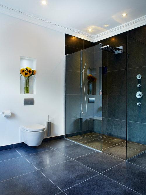 Zero Entry Shower Double Shower Design Ideas Remodels